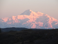 Sunrise and Mt Mckinley