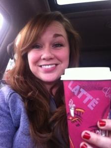 My first latte in three months!!!