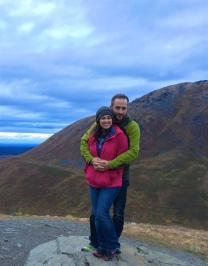 Joe and I in Hatcher's Pass